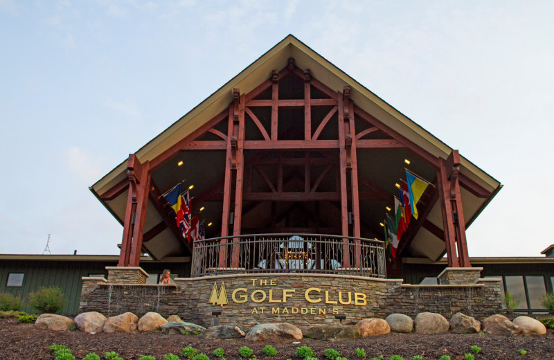 Golf club at Madden's on Gull Lake.