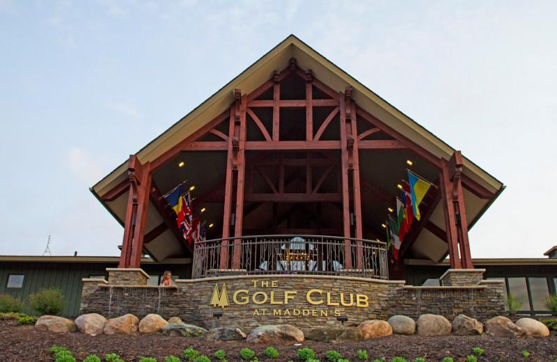 Golf club at Madden's on Gull Lake.