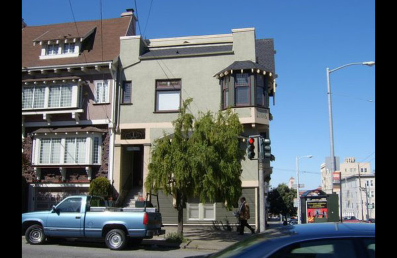 Exterior view of Moffatt House Reservations.