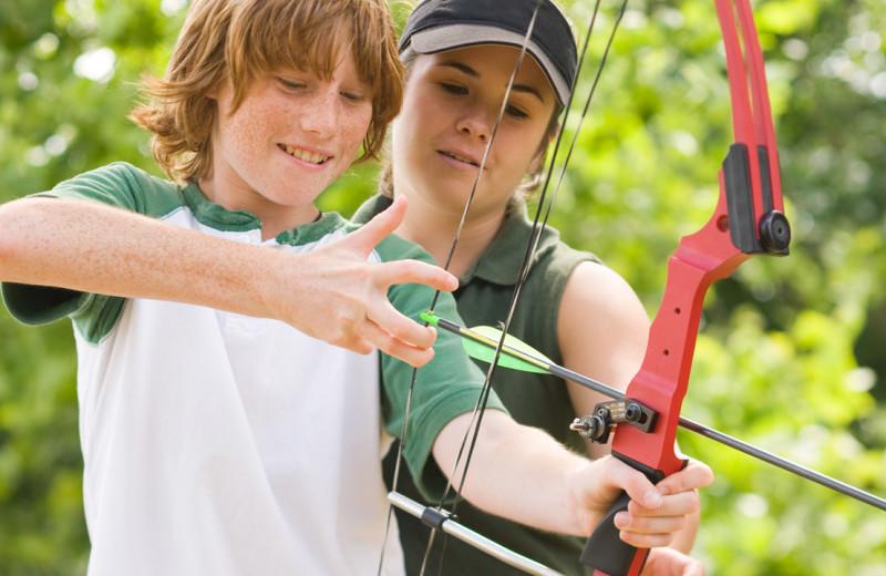 Archery at Hyatt Regency Lost Pines Resort and Spa.