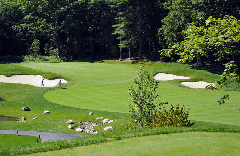 Golf course at Boothbay Harbor Country Club.