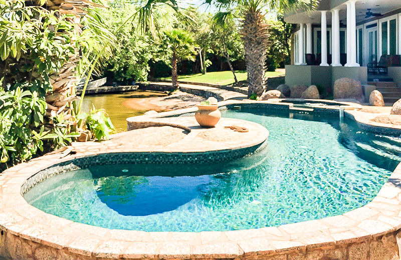 Rental pool at All Seasons Accommodations, Inc.