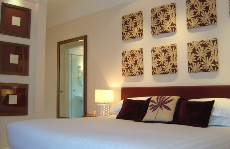 Guest room at Edgemoor.