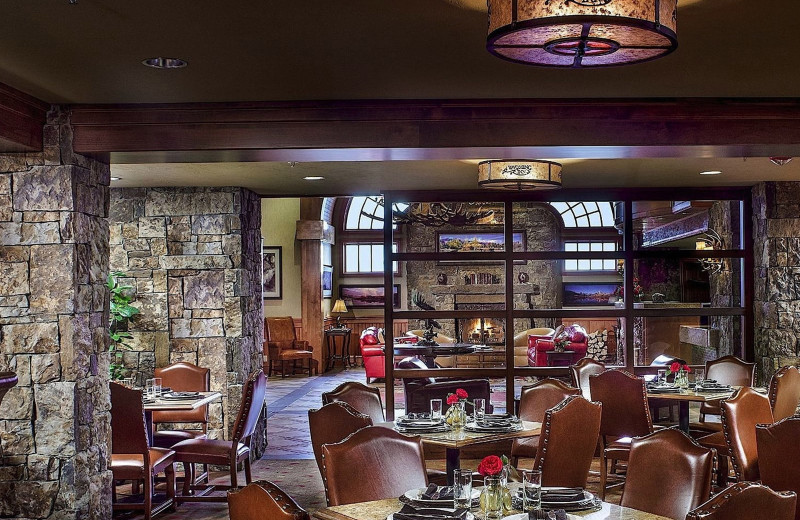 Dining at Wyoming Inn of Jackson Hole.