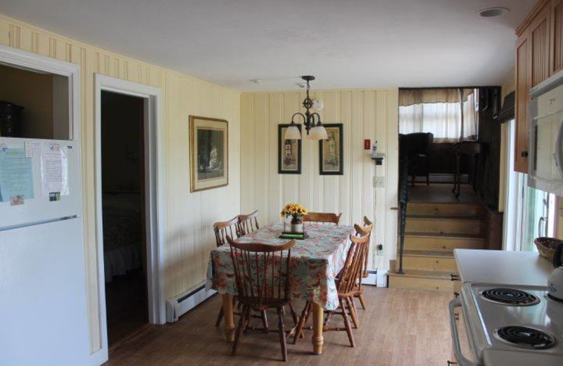 Rental dining room at Hopper Real Estate.