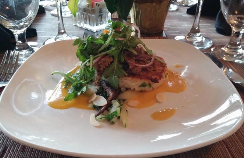 Cuisine at Highland Lake Inn