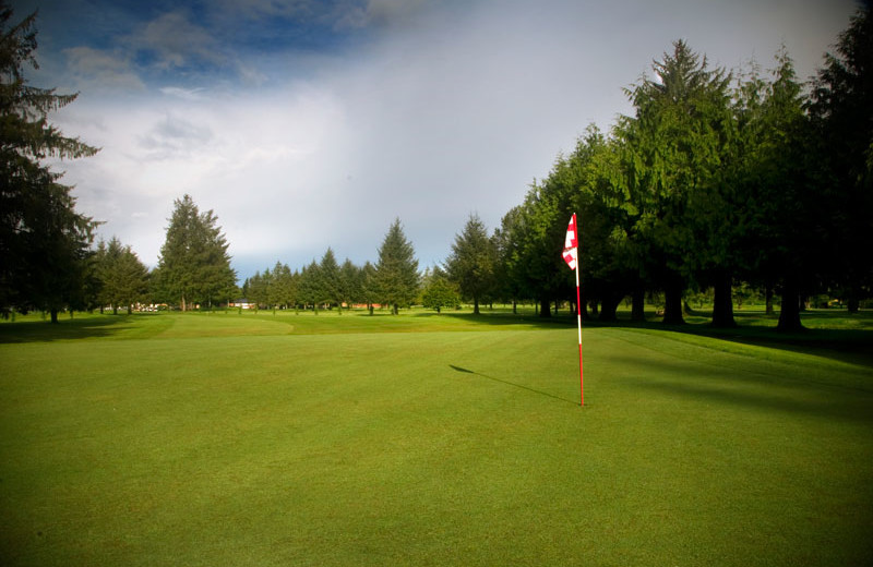 Alderbrook Golf Course at The Garibaldi House Inn.