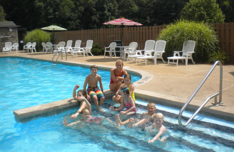 Outdoor pool at Laurel Ridge Country Club & Event Center.