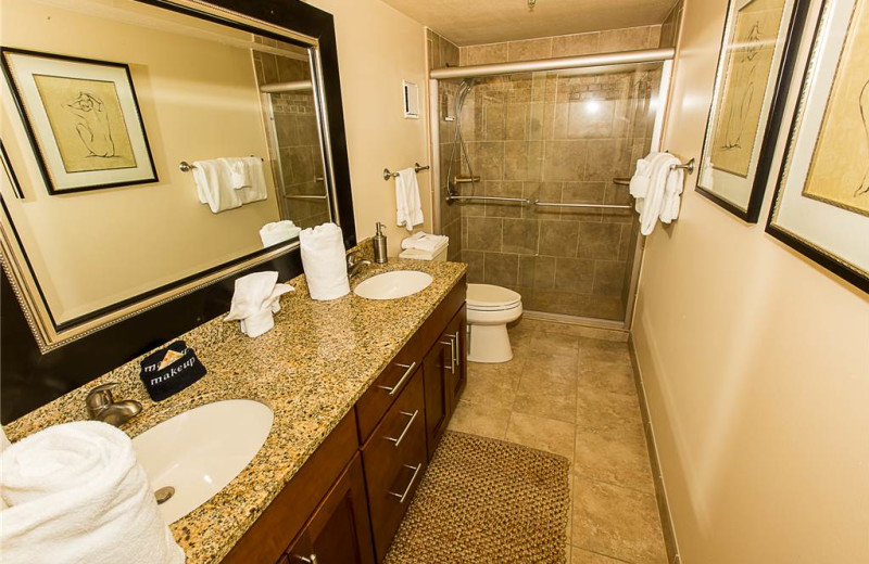Bathroom at Holiday Isle Properties - Destin on the Gulf 505.