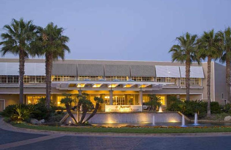 Exterior view of Coronado Island Marriott Resort.