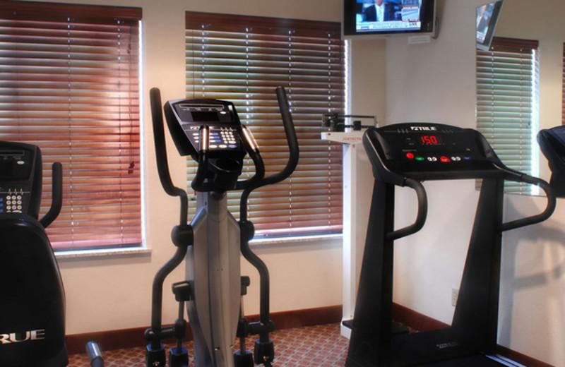 Fitness center at Inn on Barons Creek.