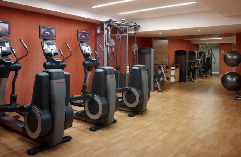 Fitness Room at the Marriott Gateway on the Falls