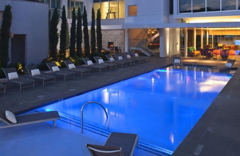Outdoor pool at Hotel Lumen - a Kimpton Hotel.