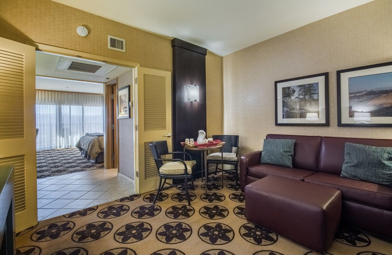 Guest suite at Prescott Resort & Conference Center.