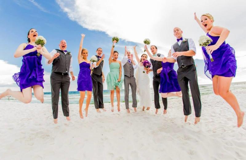 Wedding at Nautilus Condominiums.