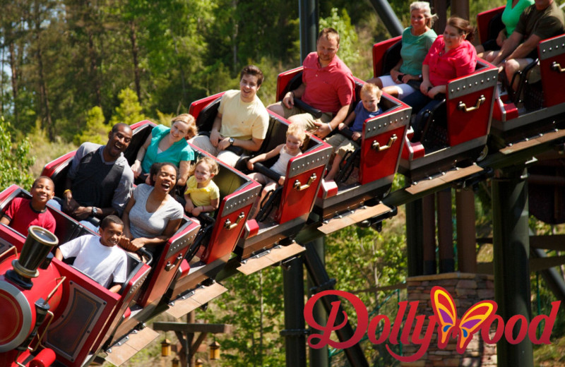 Dollywood near American Mountain Rentals.