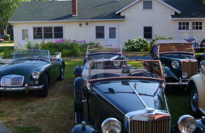 Car club at Eagles on the River and Anderson House Hotel.