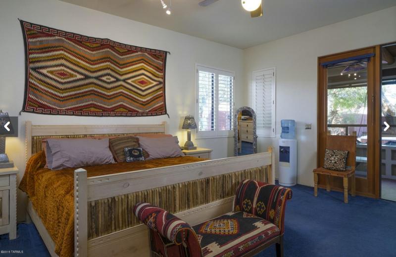 Bedroom at Sandy Point Resort.