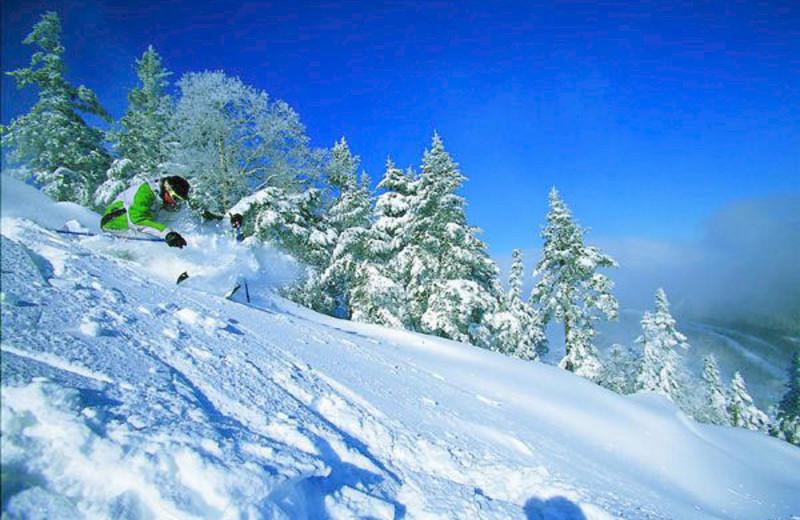 Skiing at The Mountain Inn.