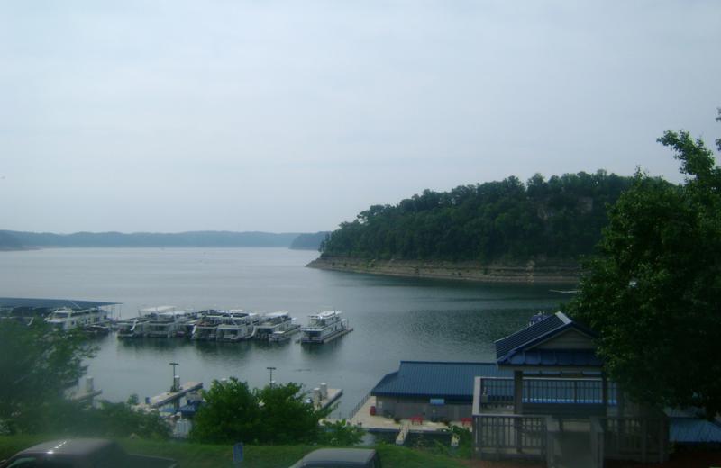 View from Jamestown Resort and Marina.