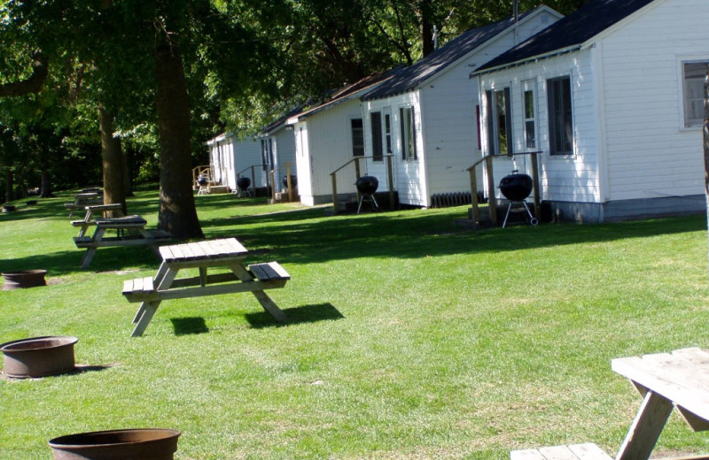 Cabins at Eden Acres Resort.