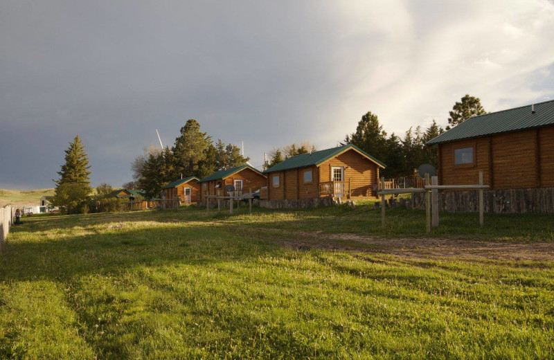 Cabins at Colorado Cattle Company Ranch.