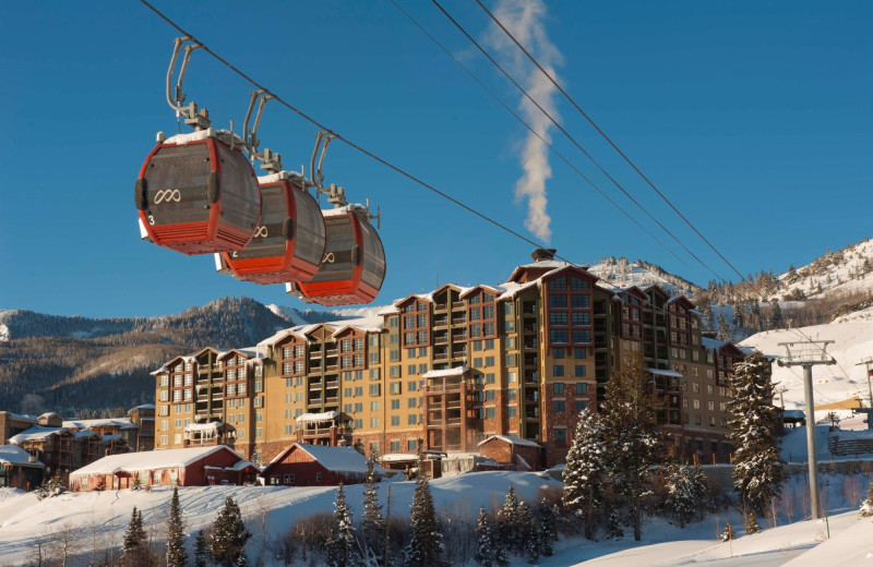 Ski lift at Grand Summit Resort Hotel.