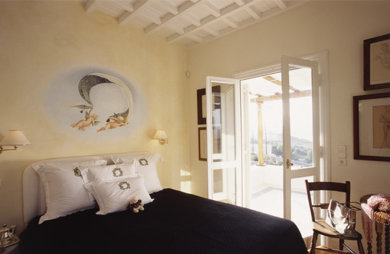 Rental bedroom at Villa Galaxy.