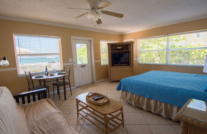 Guest room at Anna Maria Island Inn.