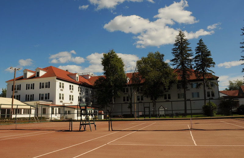 Tennis court at Eastern Slope Inn Resort.