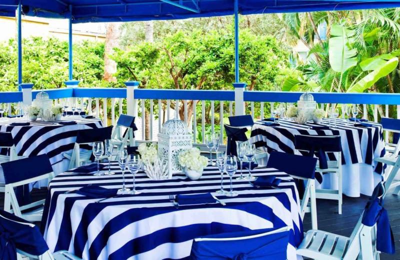 Wedding reception at Sheraton Suites Key West.