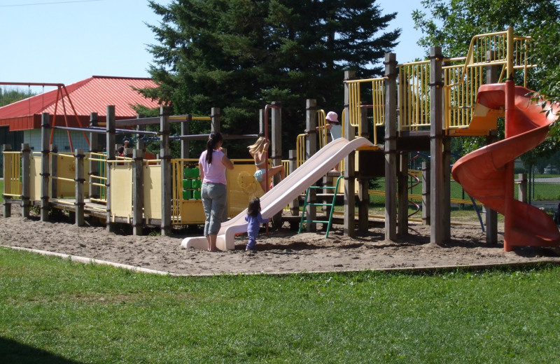 Playground at Golden Beach Resort.