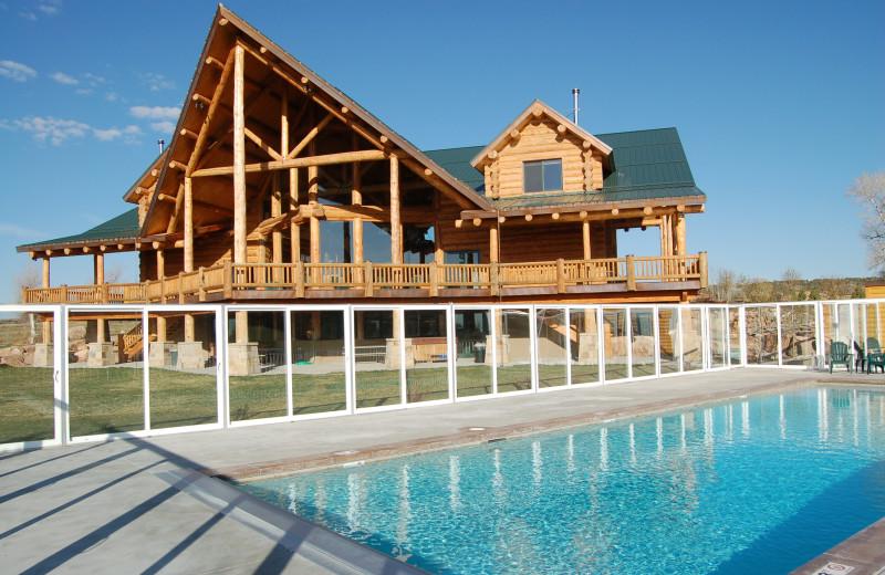 Rental exterior at Utah Family Lodges.
