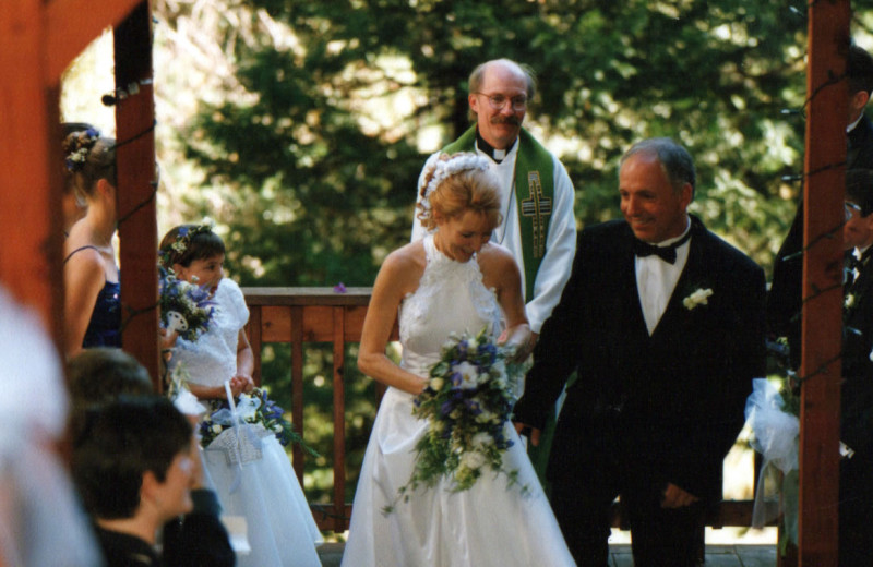 Wedding at McCaffrey House Bed and Breakfast.