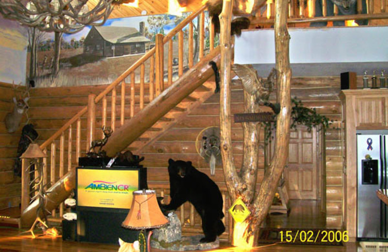 Interior view of Deer Haven Acres.