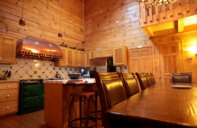 Open Kitchen at Rivers Ridge Lodge