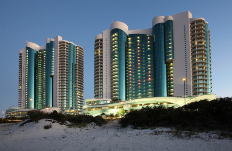 Rental exterior view of Gulf Beach Rentals.