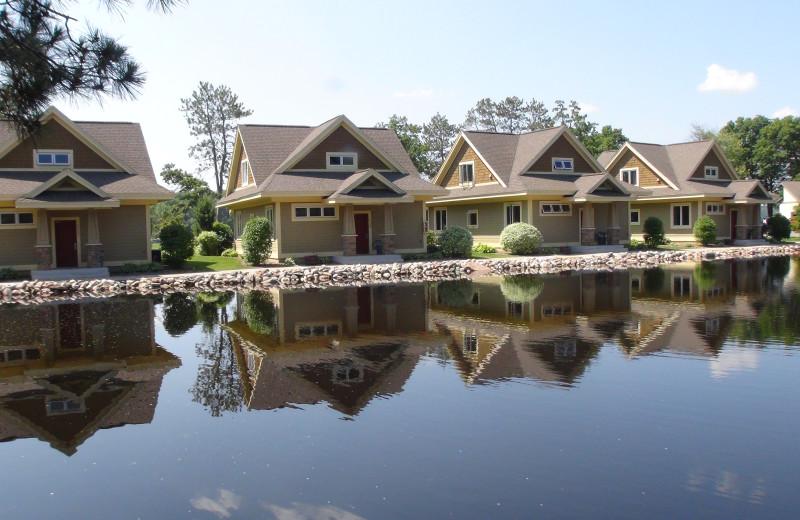 Exterior view at Kavanaugh's Sylvan Lake Resort.