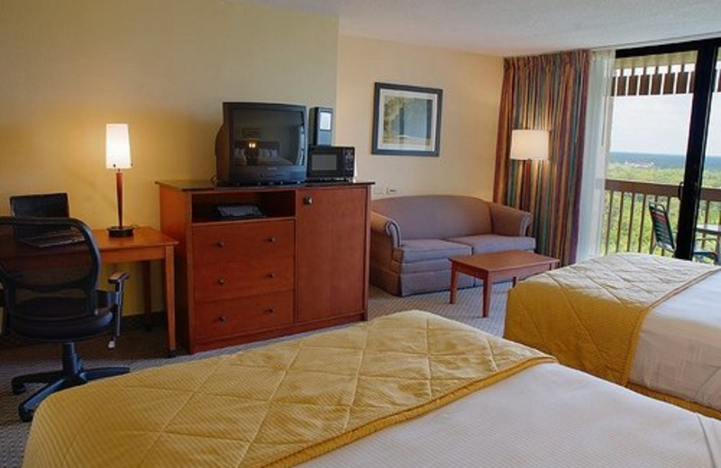 Disney View Room at Best Western Lake Buena Vista