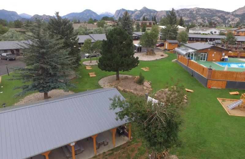 Aerial view of Murphy's Resort.