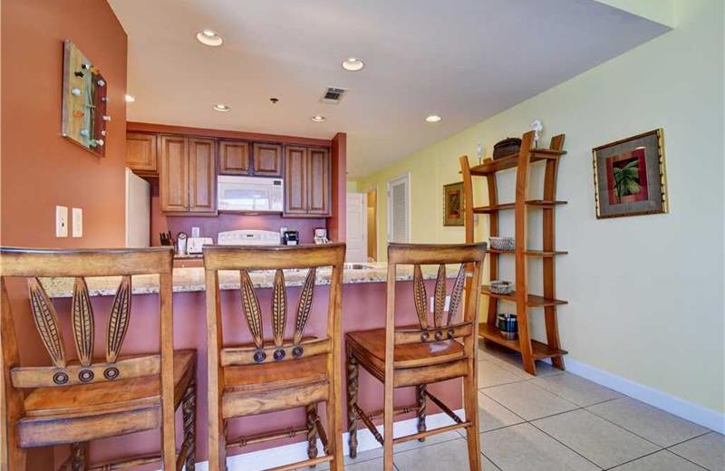 Guest kitchen at Splash Resort.