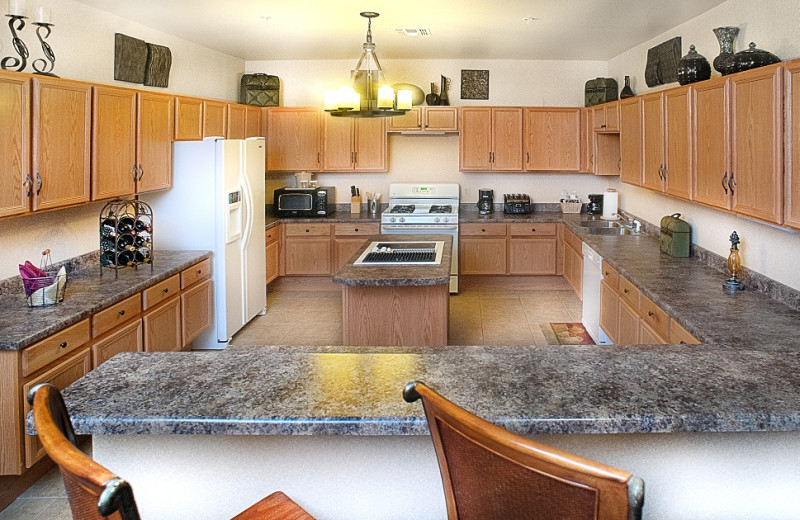 Suite kitchen at Inn on Barons Creek.