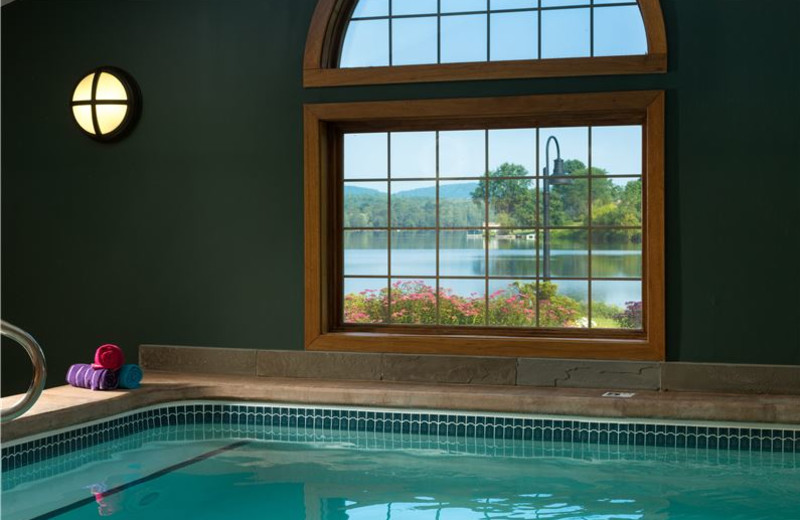 Indoor Swimming Pool at Lake Opechee Inn and Spa