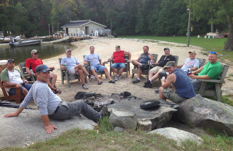 Group at Ballard's Black Island