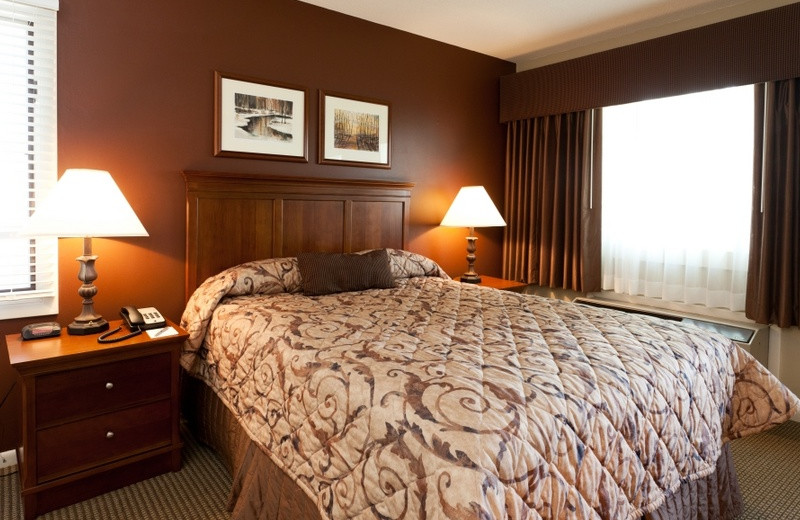 Guest room at Grand Traverse Resort.