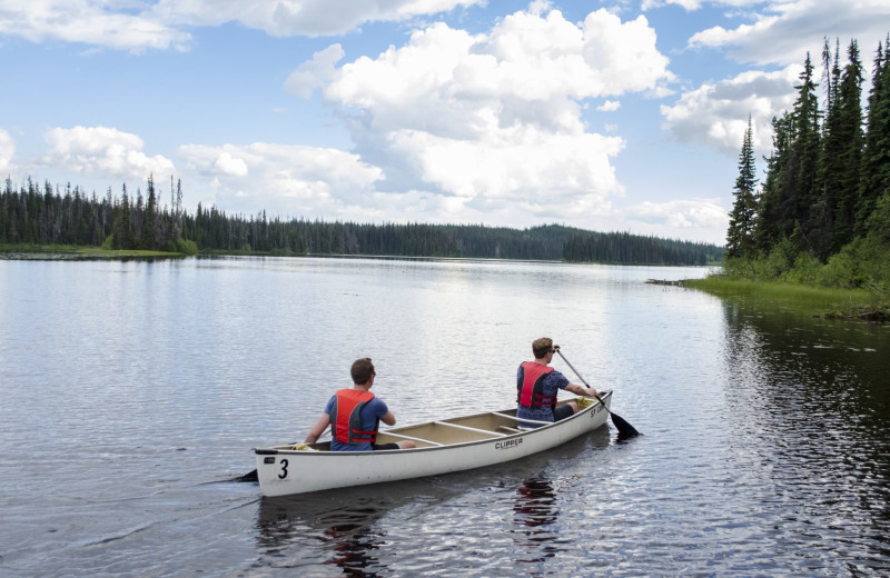 Canoeing at Bear Country Property Management Ltd.