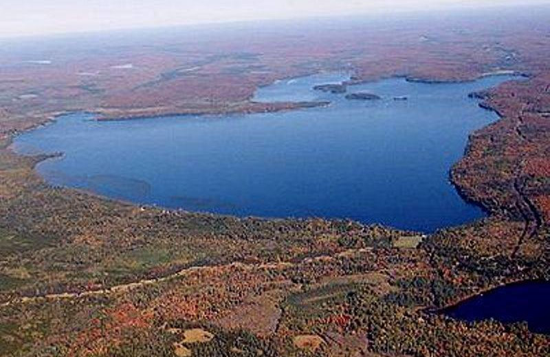 Lake at Wind Drift Resort.