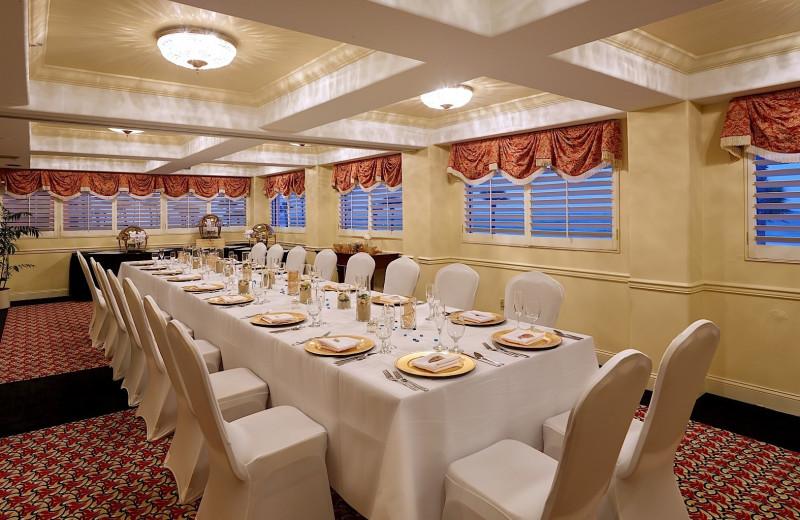 Reception at Plaza Resort & Spa.