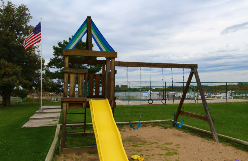Children's playground at Cyrus Resort.