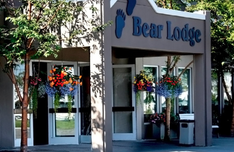 Exterior view of Bear Lodge.